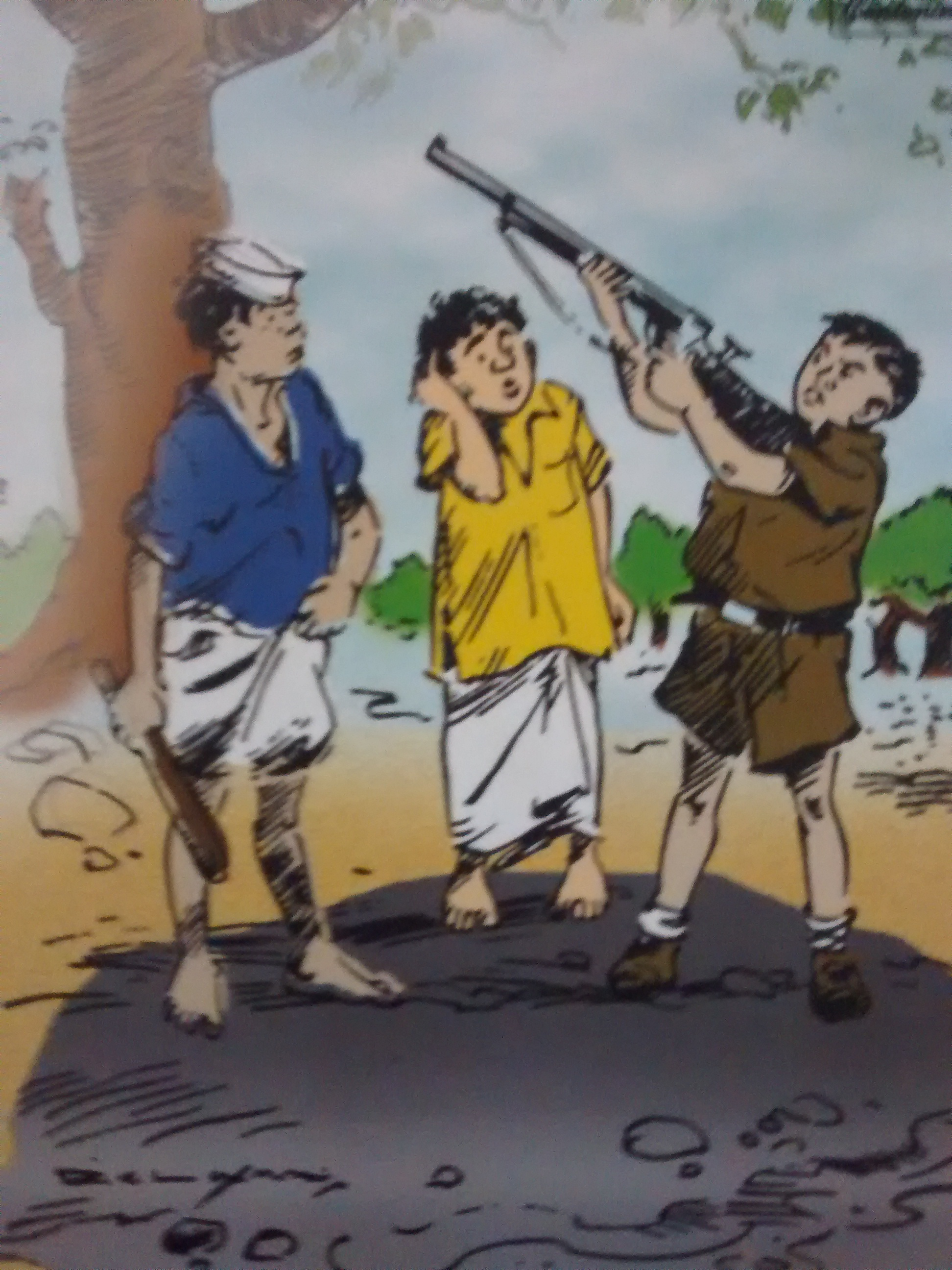 [Cover of Malgudi Days by R.K. Laxman]